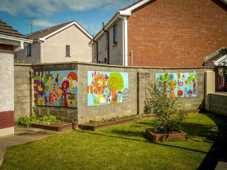 Murals designed in 2010