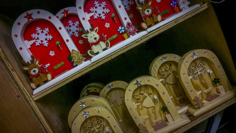 Xmas fairy doors from Trim's Men's Shed